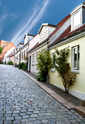 Gasse in Odense