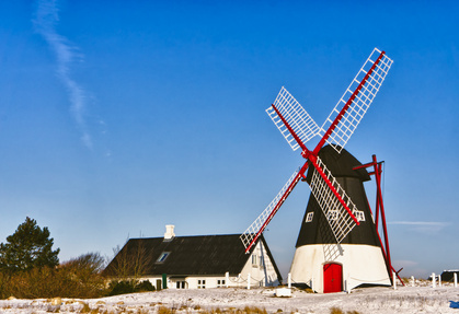 Windmühle in Ribe